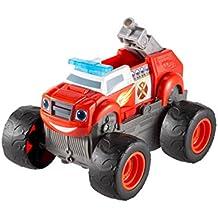Blaze and the Monster Machines DGK58 - Camión con inscripción en inglés Transforming Fire Truck