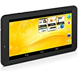 "TrekStor SurfTab xiron 3G Tablette tactile 7"" (17,78 cm) ARM Cortex A7 Quad Core 1,2 GHz 4 Go Android Wi-Fi Noir"