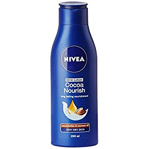 Nivea Cocoa Nourish Long Lasting Nourishment Body Lotion, 200ml