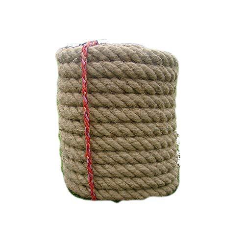 Twisted Gras (GFFTYX Twisted Sisal Rope Hanfseil - Spezialseil für Tauziehen-Wettbewerb Spaß Tauziehenseil Erwachsene Kinder Tauziehenseil Hanfseil Outdoor-Sportarten - 23 mm x 15 m / 30 mm x 20 m / 32 mm x 25 m /)