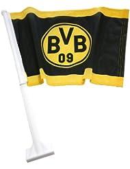 Trade Con Autofahne Borussia Dortmund, Schwarz/Gelb, 30x45cm