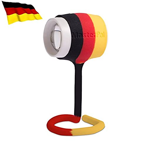 MasterPal Telego Light (Germany Flag): IP65 Waterproof Rechargeable LED Portable Lights. Book Reading Lights, Bike Light, Portable Work Light, Camp Light, Bed lights, bunk bed lamp