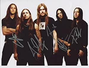 Opeth-(Band) Voll Signiert 8x 10Foto + Echtheitszertifikat 100% echtem