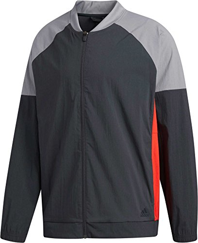 adidas Men's Stretch Woven Bomber Jacket - Stretch Woven Jacket