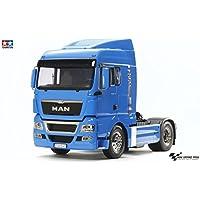 """Tamiya 56350 """"1:14 RC MAN TGX 18.540 Franz. Blau vorl."""" Fahrzeug"""