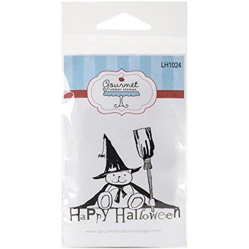arken selbst Briefmarken 2,75Zoll) X 4.75-inch-happy Halloween Bär (Bär Happy Halloween)