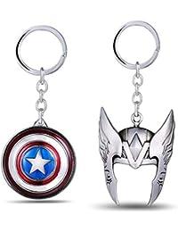 Thanos Gauntlet Avengers Infinity War Marvel Copper Colour Keychain