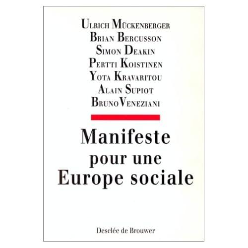 Manifeste pour une Europe sociale