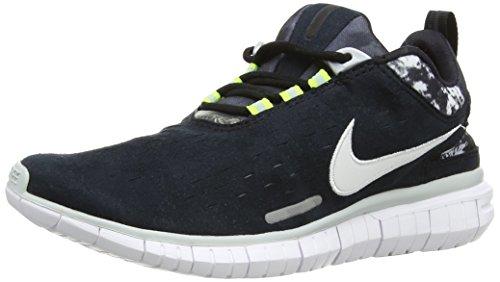 Nike Free Og 2014, Chaussures de Running Femme Noir (Black/White-Grey Mist-Volt)