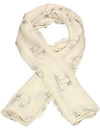 SwankySwans Stunning Scarves - Kitty Cat Sketch Print Womens Ladies Large Viscose Scarf Shawl Wrap