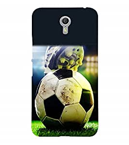Nextgen Designer Mobile Skin for Lenovo A7700 (Football Game Sport stadium Playground)