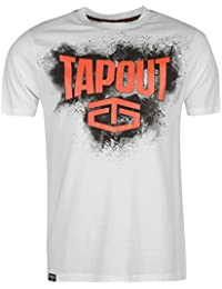 Tapout Herren Placement T Shirt Kurzarm Rundhals Baumwolle Regular Fit Print