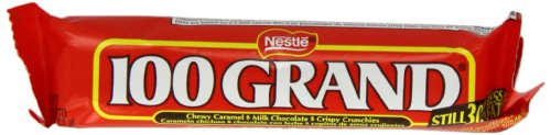 100 Grand Chocolate Bar 42.5 g (Pack of 6)
