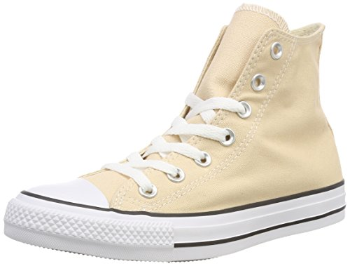 Converse Unisex-Erwachsene CTAS HI RAW Ginger Hohe Sneaker, Gelb 812, 39.5 EU (Gelbe High Top Converse)