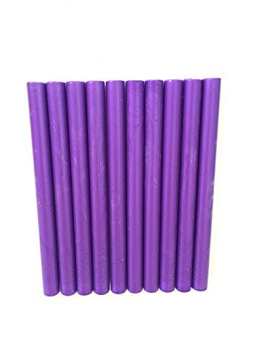 XICHEN®10PCS Vintage sealing Glue Gun Sealing Wax Wax sticks Wax seal supplies a variety of colors viola