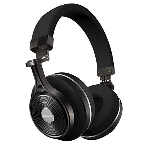 Cuffie Bluetooth senza fili Bluedio T3 Noise Cancelling Cuffie musicali portatili con microfono per telefono cellulare
