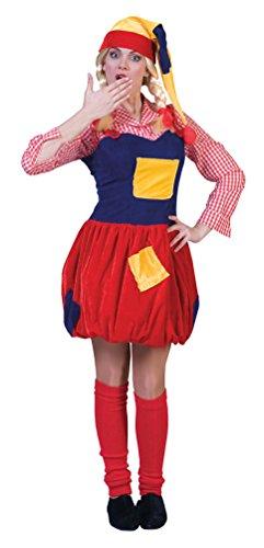 ,Karneval Klamotten' Kostüm Zwergen Dame Märchen Karneval Damenkostüm Größe 44/46 (Zwerge Aus Schneewittchen Kostüm)