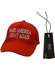 #1 Casquette Cap - Atelic® Mnisex Embroidered Make America Great Again Hat Donald Trump 2016 Adjustable Cap Baseball Hat