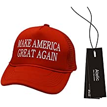 Atelic® Unisexe Casquette de baseball imprimé Make America Great Again Donald Trump 2016 Casquette réglable