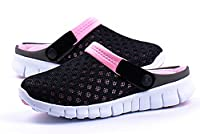 Fansela(TM) Unisex Men Women Breathable Mesh Net Slippers Autumn Sandals Loafers Slip Ons Flats Size 5.5