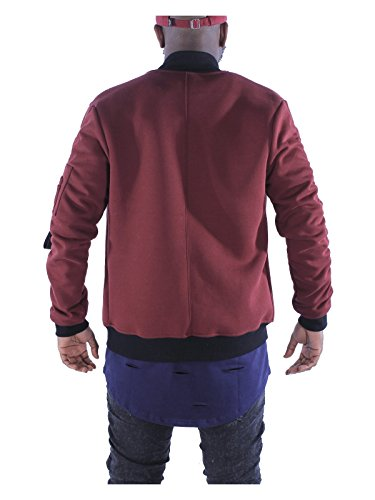 Project X Paris Herren Jacke Grau - Bordeaux (BR)
