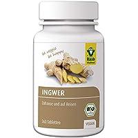 Raab Vitalfood Bio Ingwer-Tabletten, 360 Stück à 250 mg, vegan, mit ätherischen Ölen, Ingwer-Konzentrat, Gingerol... preisvergleich bei billige-tabletten.eu