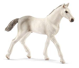 Schleich-13860 Potro Holsteiner, Color Gris, Blanco (13860)