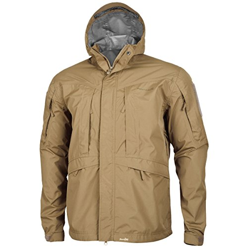 Pentagon Monsoon Hommes Rain-Shell Veste Coyote size XL