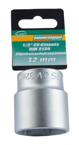 Mannesmann M19332 Douille pour clé à choc 32 mm 12,5 mm