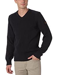 Schott Nyc Milford5 - Pull - Uni - Col V - Manches longues - Homme