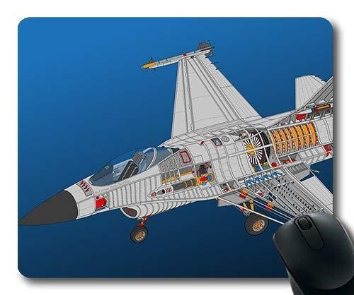 Militärflugzeug Bilder frei, große Gaming-Mauspad, Beule Kämpfer Rasierer, Mauspad mit genähten Kanten