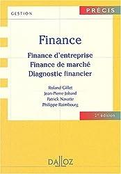 Finance : Finance d'entreprise - Finance de marché - Diagnostic financier