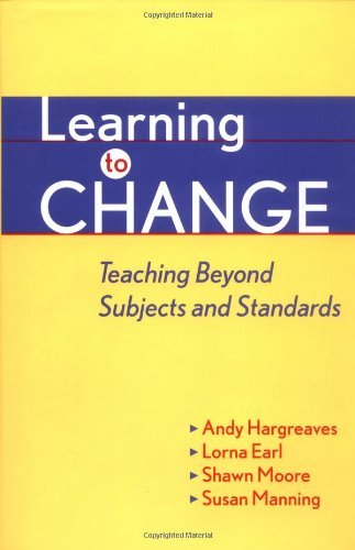 Learning to Change by Andy Hargreaves (2000-05-30)