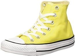 converse jaune fluo