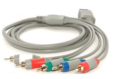 NINTENDO wii Premium Component HD AV Cable [Electronics]