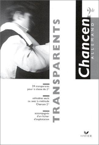Allemand 2nde : Transparents par Martine Bertolus, Marie-Luise Brandi, Claudine François, Michel Pennetier