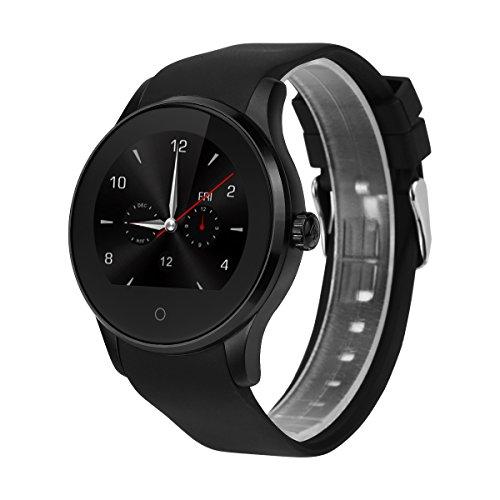 Excelvan K88S - Smartwatch Reloj Pulsera Deportiva (2G Nano Sim, Ritmo Cardiaco,...