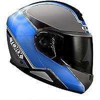TORX casco Moto Neil 2, Azul, talla L