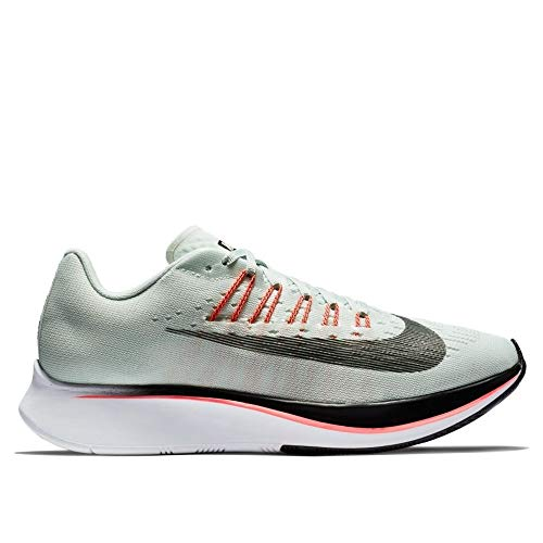 Nike Wmns Zoom Fly, Scarpe Running Donna, Multicolore (Barely Oil Grey/Hot Punch/White 009), 40.5 EU