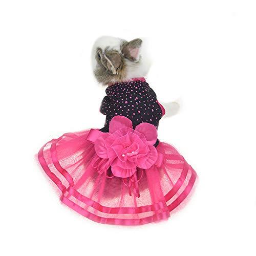 FLAdorepet süßes Kaninchen-Kleid Teetasse Chihuahua Yorkie Kleidung Kostüm Kleintier-Zubehör