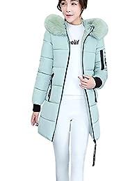 4e7b81ad4388 Elecenty Dicker Winterjacke,Down Lammy Jacke Lange Mantel Outwear Damen  Wintermantel Daunenjacke Frauen Winter Warm