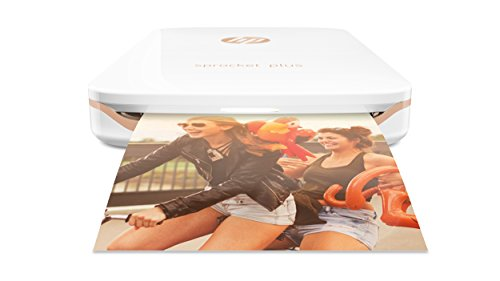 *HP Sprocket Plus Mobiler Fotodrucker – weiß*