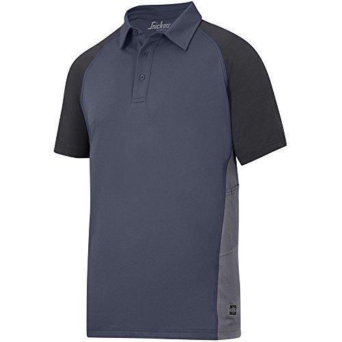 Snickers AVS Polo Shirt, Piquet Gr. S navy-schwarz