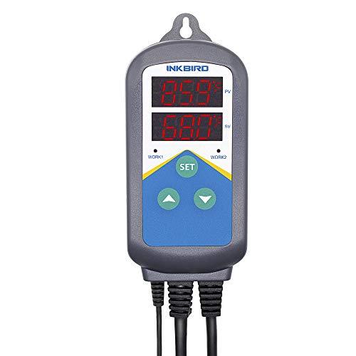 Inkbird 220V Universal Heizung (Keine Kühlung)Temperaturschalter Temperatur Regler für Fisch,Gewächshäuser Anzucht,Pflanzung,Heizstrahler,LED Licht Beleuchtung - 3