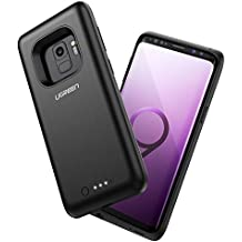 UGREEN Cargador Inalámbrico Power Bank Carcasa 5W para Samsung S9, 3850mAh Batería Externa Funda Compatible