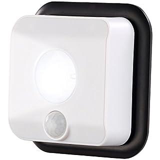 PEARL Bewegungsleuchte: Batterie-LED-Wandleuchte, Licht- & Bewegungsmelder, 110 lm, 160 Tage (Wandleuchte batteriebetrieben)