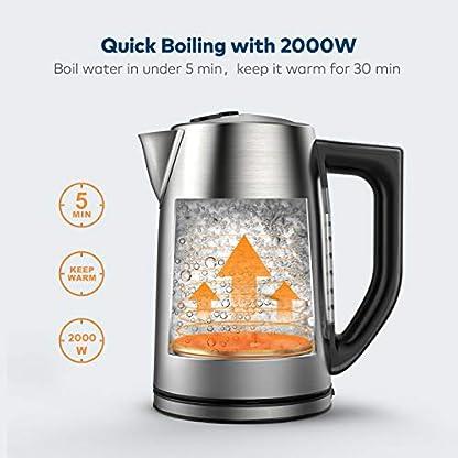 Wasserkocher-Miroco-17L-Elektrischer-Wasserkessel-Edelstahl-Teekessel-mit-6-Temperatureinstellung-und-Trockengehschutz-2000W-Elektrische-Kanne-mit-LCD-Anzeige-BPA-Frei-Silber