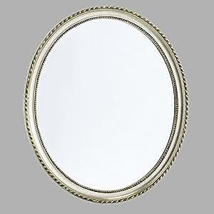 Cornice barocca specchio 70x60 cm da parete argento for Specchio cornice nera barocca