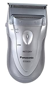 Panasonic ES3833S Battery Operated Men's Shaver (Silver)