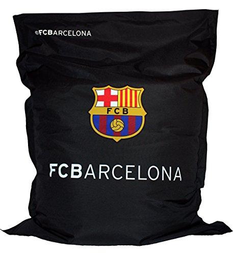 Barcelona F.C.. Fcbarcelona XXL Beanbag Special Edition by Roomox for Indoors and Outdoors Sitzsack Sitzkissen Bean Bag, Textil, Schwarz, 160 x 120 x 40 cm